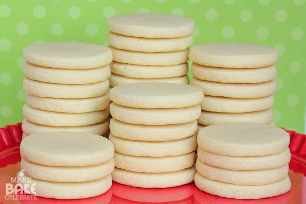 Laminado de Biscoitos de Açúcar #bolachas