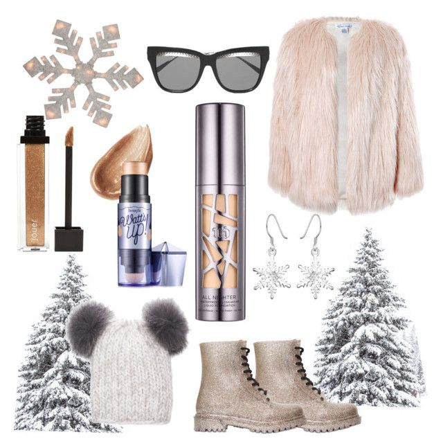 ITS A NUDE WINTER by meikkibeibi on Polyvore featuring polyvore, beauty, Urban Decay, Benefit, Eugenia Kim, Bottega Veneta, Sans Souci, G·Six Workshop, Northlight Homestore and Jouer