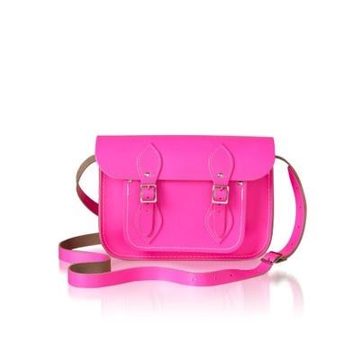 : Fluro Pink, Leather Satchel, Fashion, Fluoro Pink, Style, Cambridge Satchel, Neon, Satchel Company, Satchel Bags