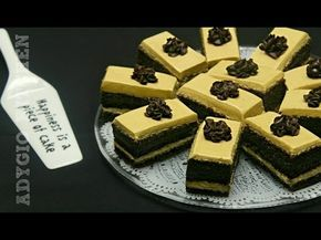 Prajitura cu crema de ciocolata si unt de arahide | Prajituri de casa Adygio Kitchen - YouTube