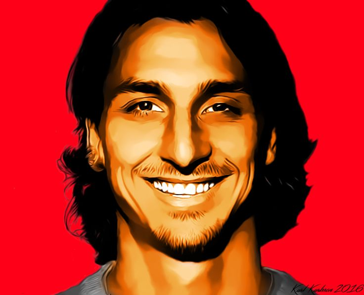 Zlatan Ibrahimovic by K4RLSWEDE on DeviantArt