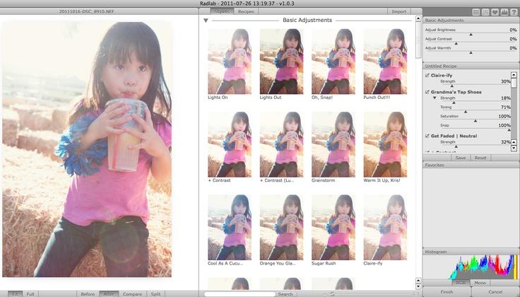 PAISLEEPRESS - photo processing with RadLab