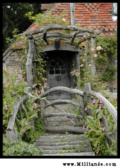 "~ Charming Cottage ~  I live in a ""Quaint Log Cottage"", so feel quite blessed, but this...this...SWEET ~"
