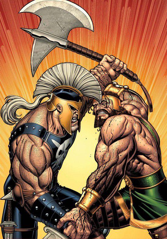 Ares vs Hercules