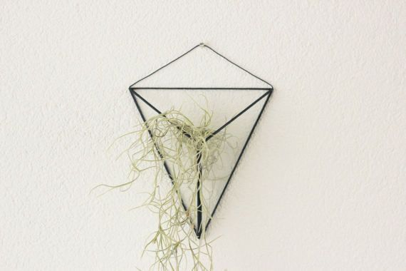 Opknoping hanging glass terrarium geometric hanging door KESKOS