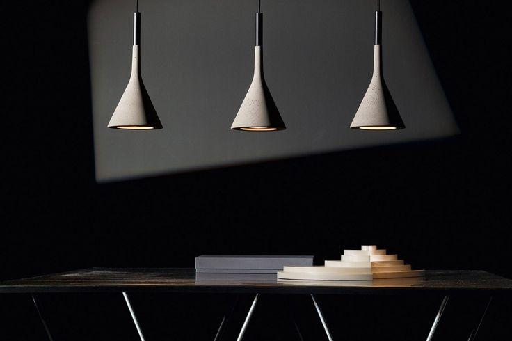 APLOMB lámpara, diseño LUCIDI E PEVERE