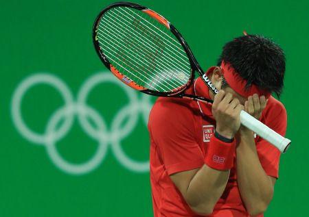 <五輪テニス>錦織 鮮やかな逆転で4強