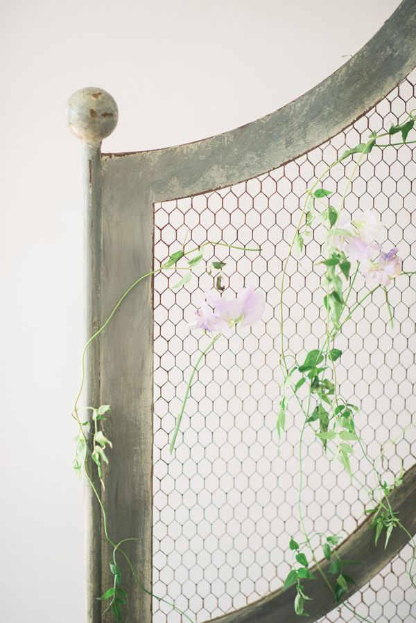 wedding flower ideas - photo by Emily Millay Photography http://ruffledblog.com/getting-ready-bridal-inspiration-and-a-wedding-brunch
