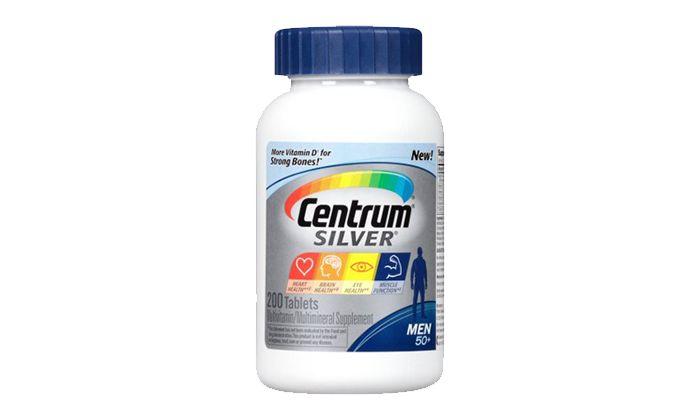 Best Multivitamin for Men Over 50: Centrum Silver Men Multivitamin/Multimineral Supplement