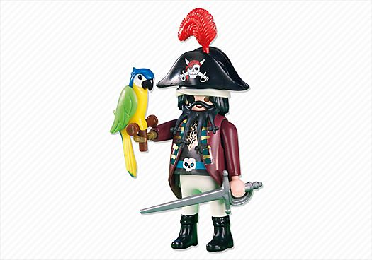Capitaine des pirates et perroquet - PM France PLAYMOBIL® France 2.70 €