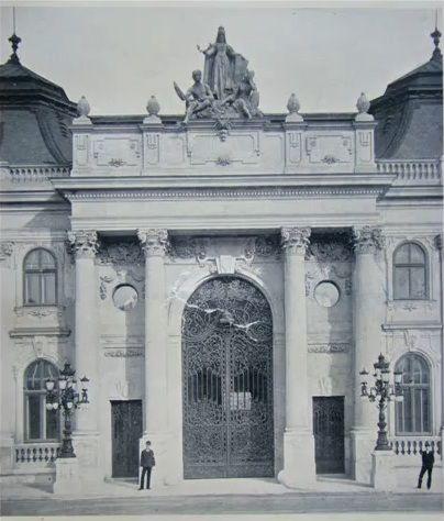 Budavári Palota Szent György téri kapu bejárata