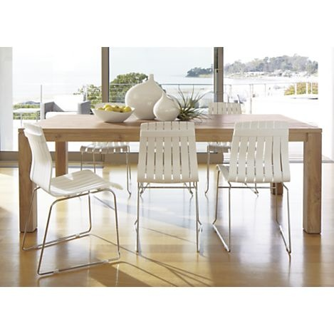 25+ best natural wood dining table ideas on pinterest | wood