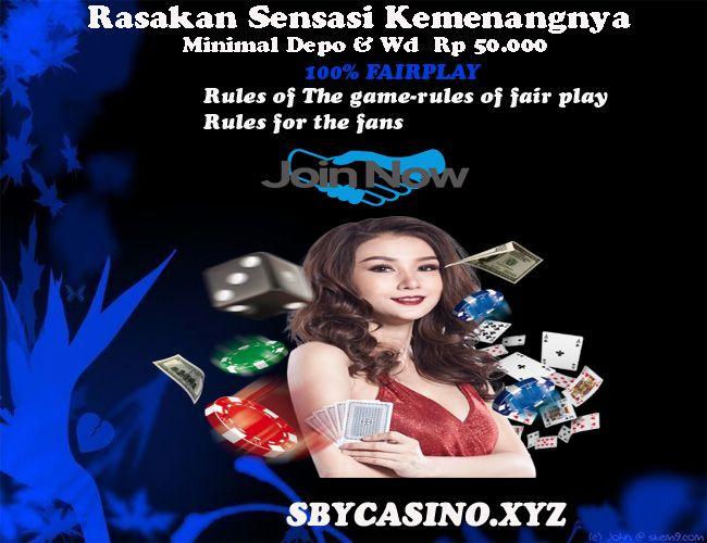 Sby Casino Mari Bergabung Bersama Kami Di Sbycasino Xyz Situs Impian Para Pecinta Dan Peminat Taruhan Online Segera Daftarka Poker Jenis Indonesia
