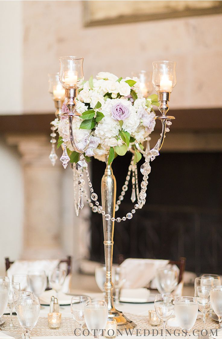 200 best gorgeous centerpieces images on pinterest wedding places this chic candelabra makes a stunning centerpiece thanks cottonweddings for sharing arubaitofo Gallery
