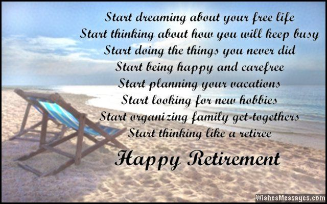 Retirement poems for dad: Happy retirement poems for father ...