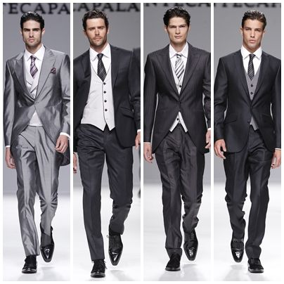 Tendencias en trajes de novio 2013: el traje de chaqueta