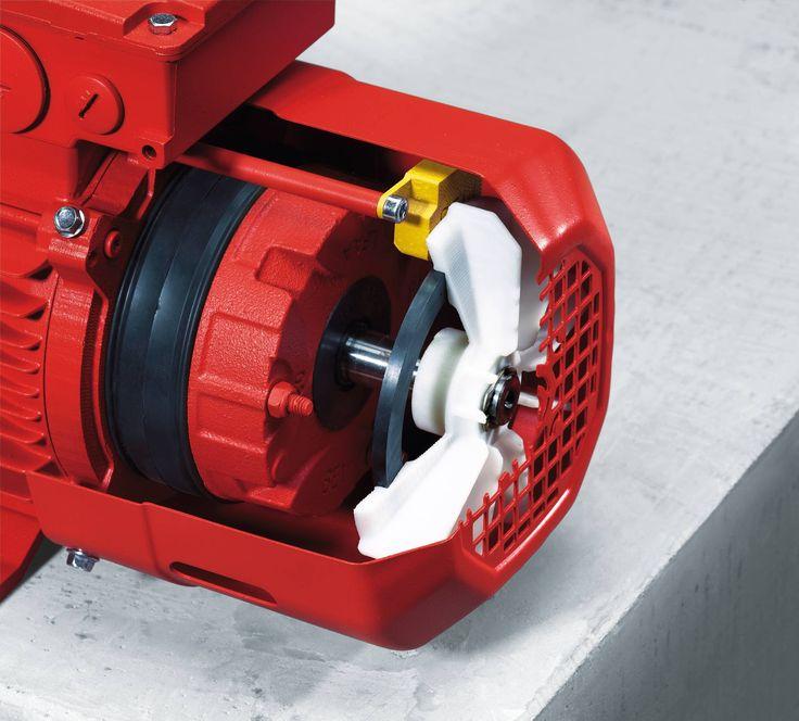 Getriebemotor mit Frequenzumrichter. Der Drehstrommotoren DR..., DR…J (LSPM),