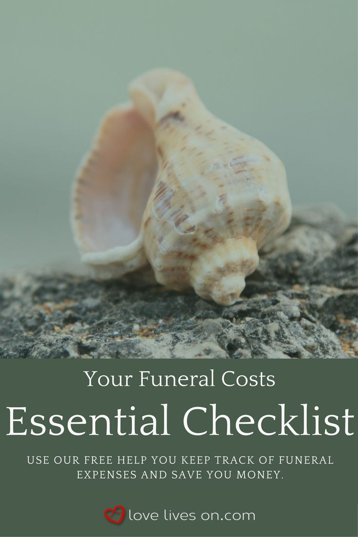 Funeral Costs | How Much Does a Funeral Cost? Click to access our free essential checklist that will be sure to help you keep track of funeral expenses and save you money when planning or pre-planning a funeral.