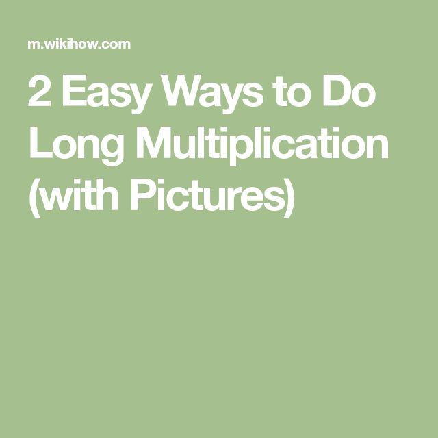 Viac ako 25 najlepších nápadov na Pintereste na tému Long - long multiplication worksheets