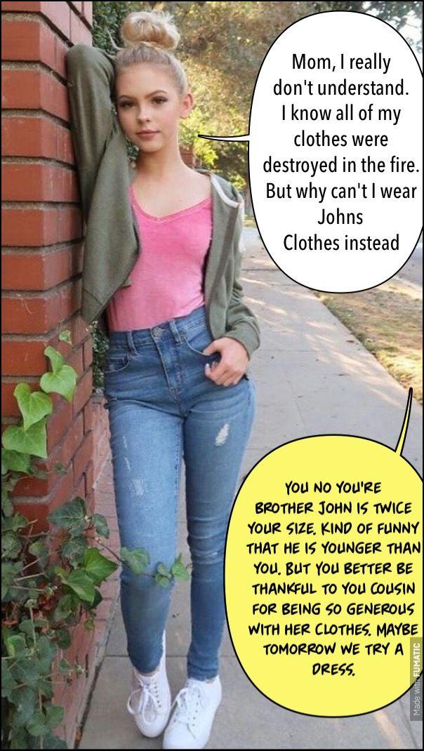Caption feminisation Caption Stories