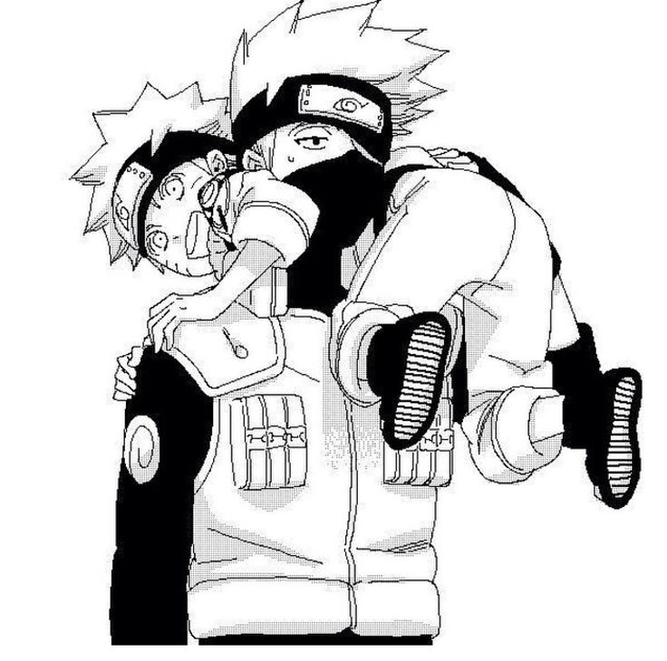 180 best images about Naruto, Kakashi and Obito on ...