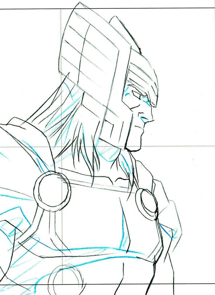 HeroWiz.com - Original Avengers Assemble - Marvel Animation Art - Thor and Falcon, $54.95 (http://www.herowiz.com/original-avengers-assemble-marvel-animation-art-thor-and-falcon/)