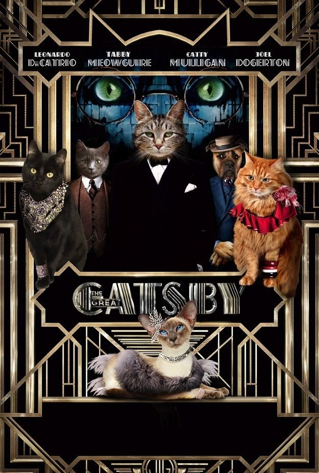 The Great Catsby: A Clawssic Tail, Told By Kitties