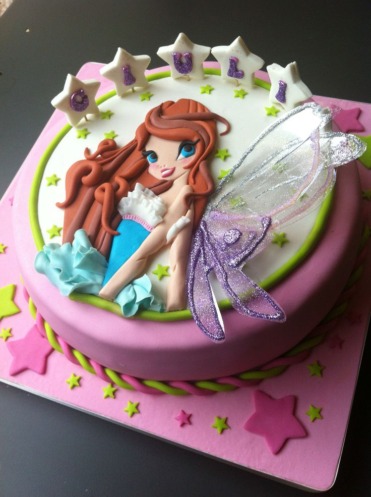 Winx / cake / Bloom / birthday cake /