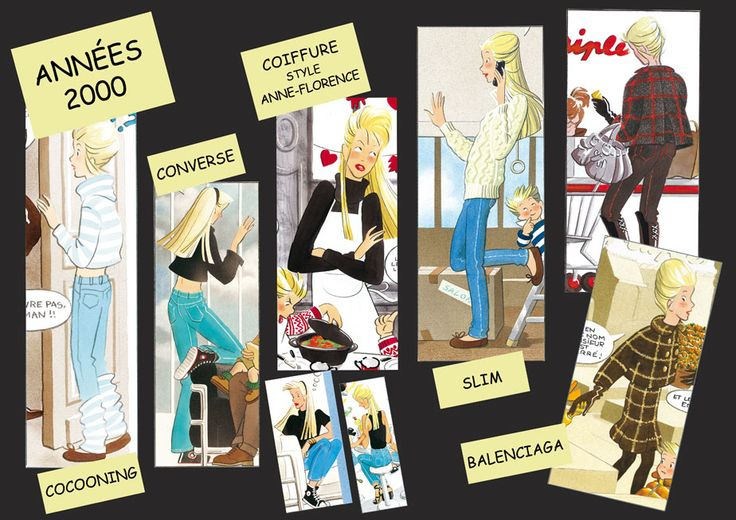 La Mode des Triplés - Années 2000 - for more inspiration visit http://pinterest.com/franpestel/boards/