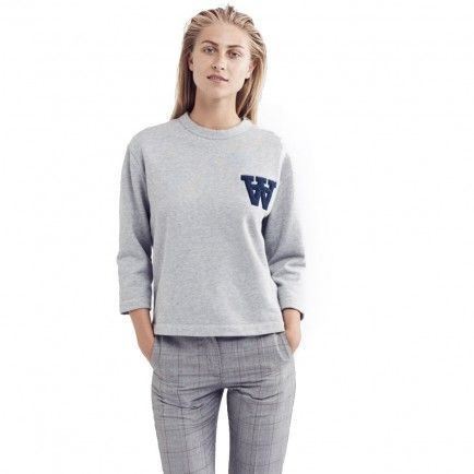 Wood Wood Hope Sweatshirt (Light Grey)