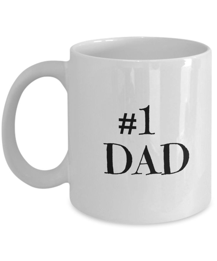 Gifts For Dad - Birthday Gifts For Dad- Dad Gifts From Daughter - Unique Gifts For Dad - Best Dad Mug-Number One Dad Mug