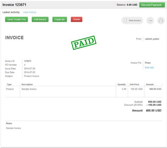 51 best Invoice Software images on Pinterest Software, Track and - invoice page