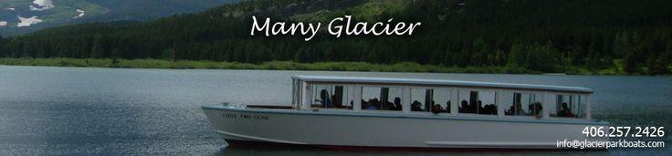 Many Glacier Boats