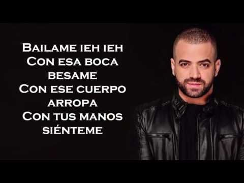 Nacho - Bailame Letra/ Lyrics HD - YouTube