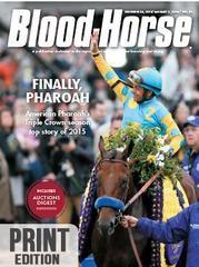 Blood-Horse: December 26, 2015 Print
