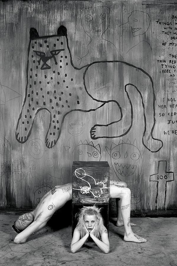 Die Antwoord <3's Roger Ballen. #photography #art #music