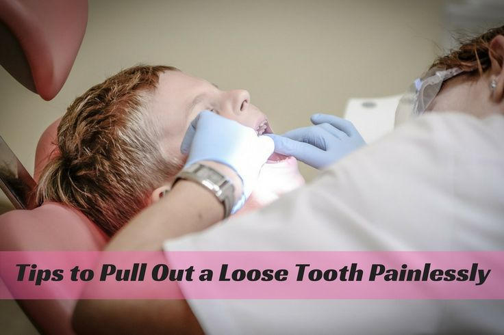 how to pull a tooth out adults