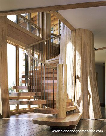 Log Home Interior Designs And Log Home Décor | Pioneer Log Homes Of BC
