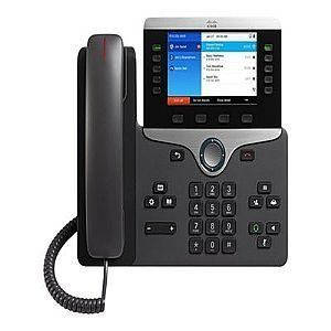 Cisco  SYSTEMS CP-8851-K9= Cisco IP Phone 8851 - VoIP phone - SIP RTCP RTP SRTP SDP - 5 lines - (Phones an Cisco Systems Cisco IP Phone 8851 VoIP phone SIP RTCP RTP SRTP SDP 5 lines CP8851K9 Phones IP POTS Phones (Barcode EAN = 0882658698422). http://www.comparestoreprices.co.uk/december-2016-6/cisco-systems-cp-8851-k9=-cisco-ip-phone-8851--voip-phone--sip-rtcp-rtp-srtp-sdp--5-lines--phones-an.asp