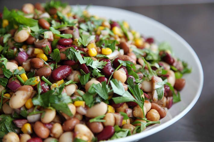 Four Bean Dish with Balsamic Dressing | F45 Challenge