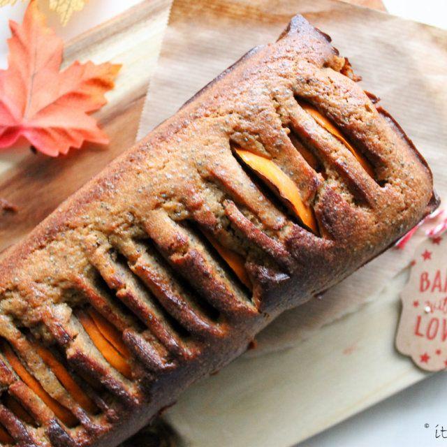 Recept voor citroen cake met kaki fruit | It's a Food Life
