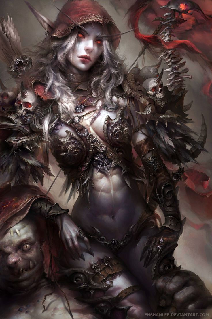 Sylvanas Windrunner (World of Warcraft) by Enshanlee