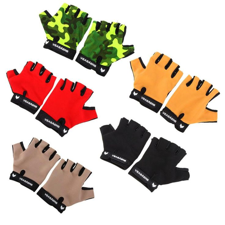 Breathable Anti-slip Bicycle Cycling Gloves Multifunction Half Finger Gloves