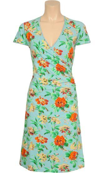 Vintage inspired summer dress flower garden - King Louie SS2014