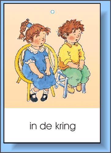 Dagritme kaarten voor in de klas.