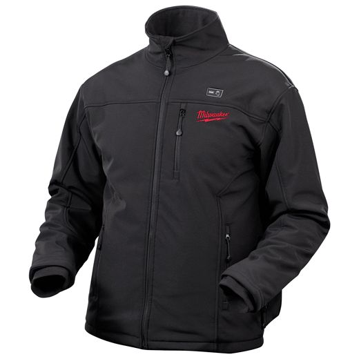 12-Volt Cordless Black Heated Jacket Only – Small, Medium, Large, XL, 2X, 3X | Milwaukee Tool