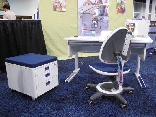 Colorful, Ergonomically-Designed Kids Desks from Moll — ABC Kids 2013