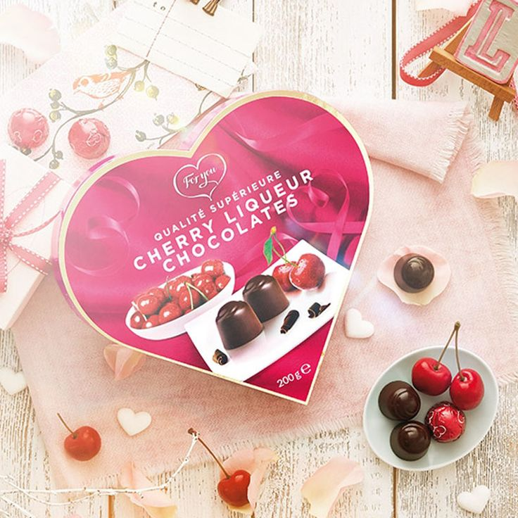 Σοκολατάκια cherry liqueur chocolates