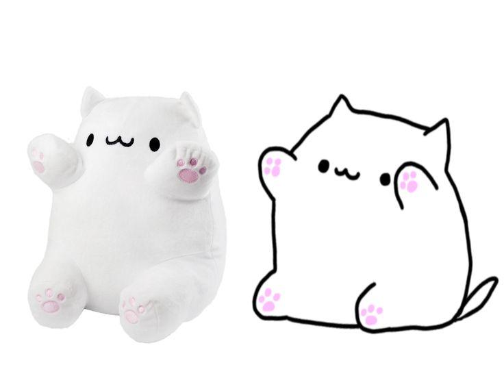 Bongo cat plushie found on rofcoursethatsathing music
