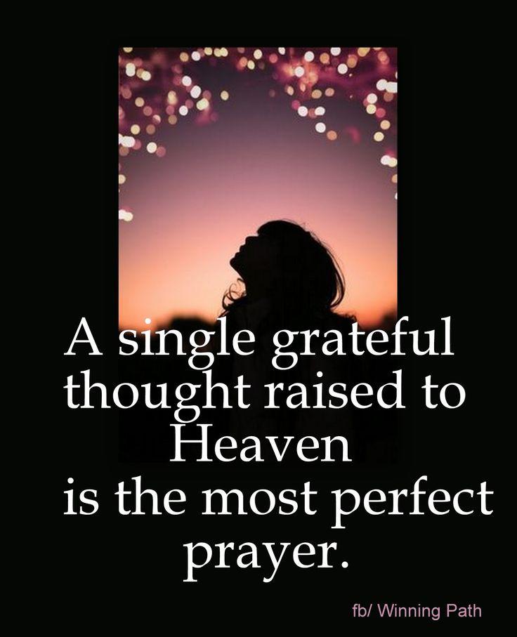 grateful prayer